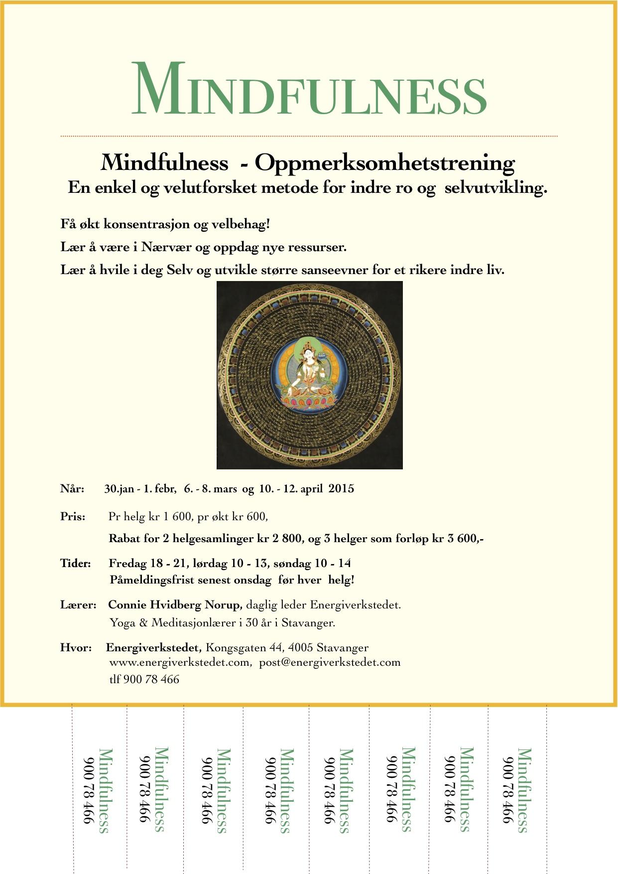 kurs i mindfulness