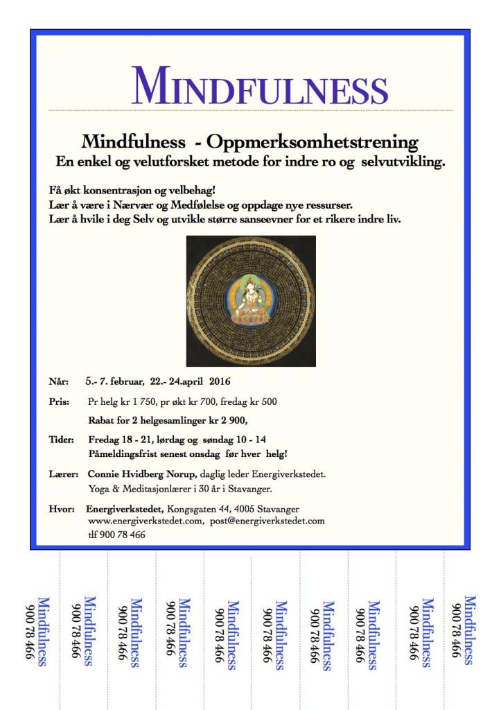 Mindfulness vår 2016